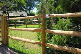 Post And Rail Fencing Jacksons Fencing