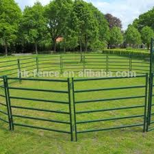 Best Portable Horse Corral Haotian Portable Horse Fence Panel 6 9 Galvanized Steel Pipe Horse Round Pen Pony Alpaca Corral Buy Steel Tube Corral Fencing Panels Used Horse Fence Panels Horse Round Yard Panels Product On Alibaba Com