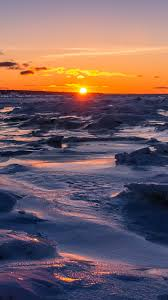 خلفيات ايفون Hd غروب الشمس جميلة 2020 مربع