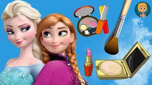 princess elsa and anna frozen makeup