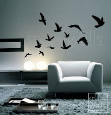 Diy Wall Decals On Anneoshine S Youtube Channel Bird Wall Decals Bird Wall Decor Office Wall Decals