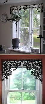 easy diy window valance ideas