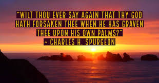 he will never leave you nor forsake you charles h spurgeon