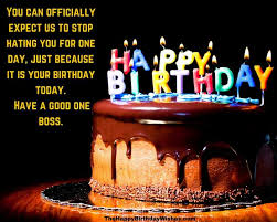 delicious birthday cake candles quotes for my boss nice wishes