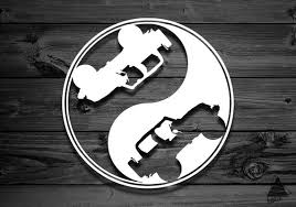 Vinyl Decal For Wrangler Car Decal Yin Yang Yin Yang Etsy