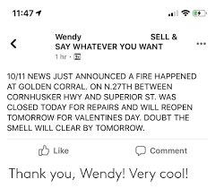 Thank You Wendy! Very Cool! | Thank You Meme on ME.ME