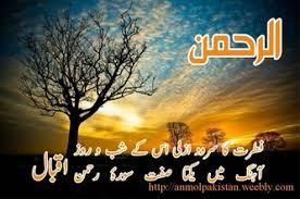 urdu poetry allama iqbal anmol