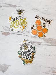 Car Decal Set By Simply Southern Bees Prep Obsessed