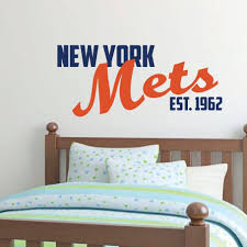 New York Wall Stickers City Decal Themed Knicks Design Skyline Silhouette Yankees Logo Target Vamosrayos