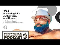 40. Marketing with Humor and Authenticity w/ Adam Avitable — Fresh Fuel  Marketing