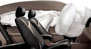 passenger side airbag deploy in a crash