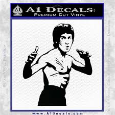 Bruce Lee Decal Sticker Fight A1 Decals