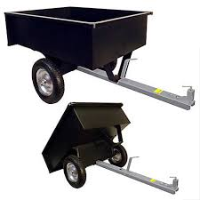 Groundwork Tow Behind Dump Cart 750 Lb Lc1003tbl At Tractor Supply Co