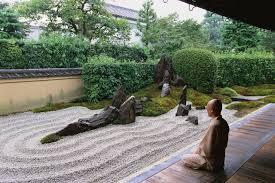 the art of zen gardens in zen buddhism