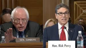 Sanders confronts Perry on climate change stance - The Washington Post