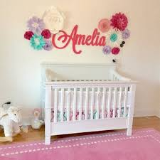 Wall Decor Baby Shower Gift Nursery Name Sign For Kids Room Etsy Nursery Name Decor Kid Room Decor Wooden Name Signs