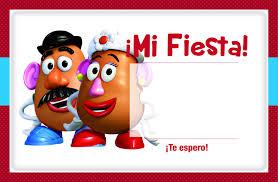 Pin De Dano Nahuat En Invitaciones De Toy Story Con Imagenes