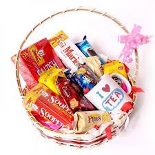 ultimate snack fun gift basket