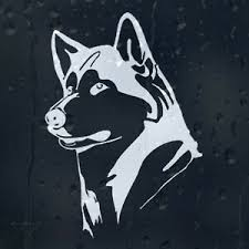 Siberian Funny Husky Dog Car Decal Vinyl Sticker For Window Or Bumper Or Panel Archives Midweek Com