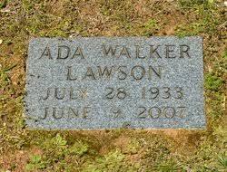 Lillie Ada Walker Lawson (1933-2007) - Find A Grave Memorial