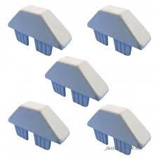 Vinyl Picket Fence Caps 7 8 X 3 Dog Eared Style Vinyl Fence Picket Caps White