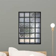 Glass Brick Window Wall Decal Wallmonkeys Com