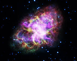 e images crab nebula from five