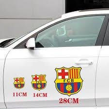 10pcs Barca Fcb Logo Removable Car Stickers Auto Art Barcelona Ps4 Sticker Reflective Football Fan Memorial Products Car Sticker Stickers Autoreflective Sticker Aliexpress