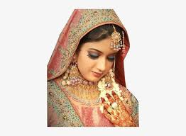 economy of india bridal makeup png