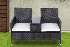 rattan garden chair set garden