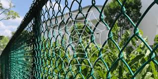 Pvc Chain Link Fence Singapore L Progress Abms