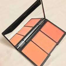 sleek blush by 3 palette lace 367 on