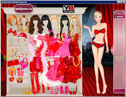 dressup and makeover games free