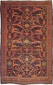 antique bidjar rug 11 0 x 17 0