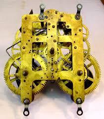 clock movement restoration