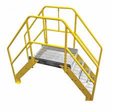 Aluminum Crossover Ladder Custom Made Ladders Platforms Fixed Rolling Ladders Metal Stairs Pool Decks Ladder