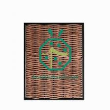 Artificial Bamboo Screening Suppliers China Simulated Wicker Fence Panel Manufacturer