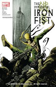 Comic The Immortal Iron Fist issue 3