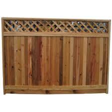 Fence Panel 5 6 X 8 Red Cedar 6823lt4tg Rona