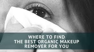 best organic makeup remover
