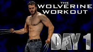 the wolverine hugh jackman full workout