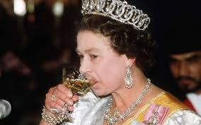 the queen s jewels are cleaned with gin