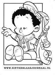 Kleurplaten Baby Piet Bizconnect Nieuwe Kleurplaten Sinterklaas