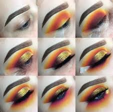 sunset cut crease how to create a