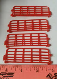 1 64 ertl farm country toy qty of 4 red