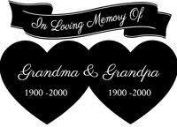 World S Best Grandparents Window Car Decal Vinyl Sticker Grandma Grandpa Fun Ebay