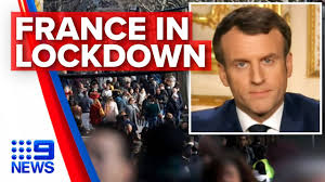 France orders 15-day lockdown ...