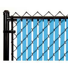 Sky Blue Tube Slats For 10ft Chain Link Fence Walmart Com Walmart Com