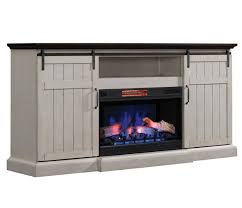tv stand infrared electric fireplace