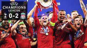 LIVERPOOL WIN THE CHAMPIONS LEAGUE!